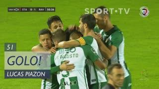 GOLO! Rio Ave FC, Lucas Piazon aos 51', Santa Clara 0-1 Rio Ave FC