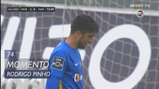 Marítimo M., Jogada, Rodrigo Pinho aos 74'