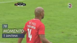 Santa Clara, Jogada, Thiago Santana aos 78'