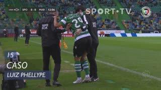 Sporting CP, Caso, Luiz Phellype aos 15'