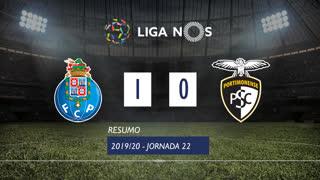 Liga NOS (22ªJ): Resumo FC Porto 1-0 Portimonense