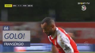 GOLO! SC Braga, Fransérgio aos 66', SC Braga 2-1 FC Porto