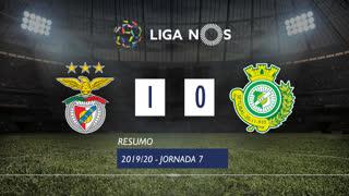 Liga NOS (7ªJ): Resumo SL Benfica 1-0 Vitória FC