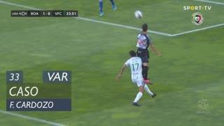 Boavista FC, Caso, F. Cardozo aos 33'