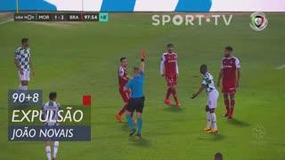 SC Braga, Expulsão, João Novais aos 90'+8'