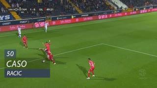 FC Famalicão, Caso, Racic aos 50'