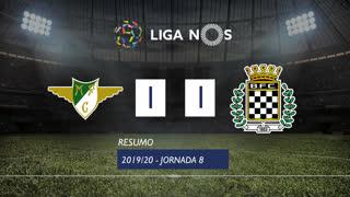 Liga NOS (8ªJ): Resumo Moreirense FC 1-1 Boavista FC