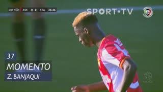 CD Aves, Jogada, Zidane Banjaqui aos 37'