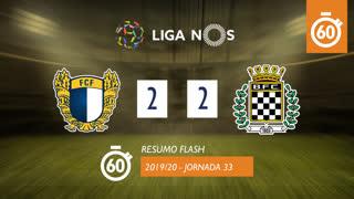 Liga NOS (33ªJ): Resumo Flash FC Famalicão 2-2 Boavista FC