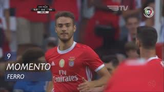 SL Benfica, Jogada, Ferro aos 9'