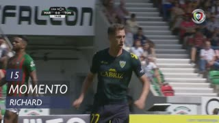 CD Tondela, Jogada, Richard aos 15'