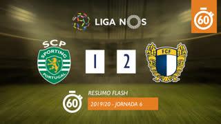 Liga NOS (6ªJ): Resumo Flash Sporting CP 1-2 FC Famalicão