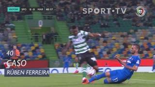 Marítimo M., Caso, Rúben Ferreira aos 40'