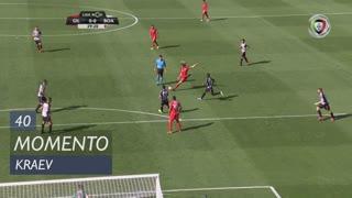 Gil Vicente FC, Jogada, Kraev aos 40'