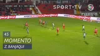 CD Aves, Jogada, Zidane Banjaqui aos 45'