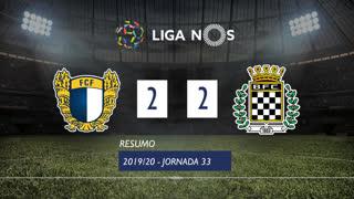 Liga NOS (33ªJ): Resumo FC Famalicão 2-2 Boavista FC