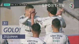 GOLO! Vitória FC, Zequinha aos 31', CD Tondela 0-2 Vitória FC