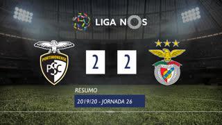 Liga NOS (26ªJ): Resumo Portimonense 2-2 SL Benfica