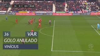 SL Benfica, Golo Anulado, Vinícius aos 36'