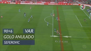 SL Benfica, Golo Anulado, Seferovic aos 90'+6'