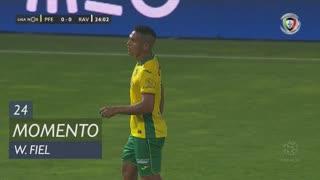 FC P.Ferreira, Jogada, W. Fiel aos 24'