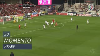 Gil Vicente FC, Jogada, Kraev aos 50'