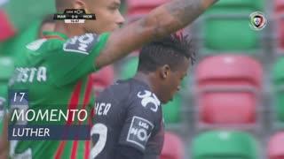 Moreirense FC, Jogada, Luther aos 17'