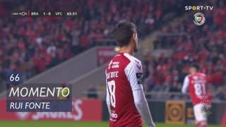 SC Braga, Jogada, Rui Fonte aos 66'