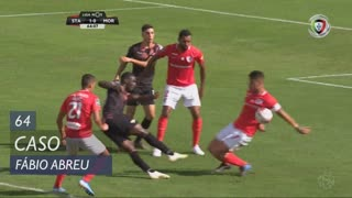Moreirense FC, Caso, Fábio Abreu aos 64'