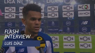 Liga (8ª): Flash Interview Luis Díaz