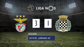 Liga NOS (30ªJ): Resumo SL Benfica 3-1 Boavista FC