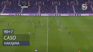 FC Porto, Caso, Nakajima aos 90'+7'