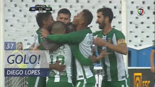 GOLO! Rio Ave FC, Diego Lopes aos 57', Belenenses SAD 0-2 Rio Ave FC