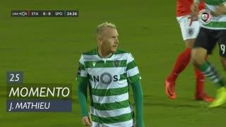 Sporting CP, Jogada, J. Mathieu aos 25'