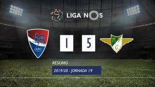 Liga NOS (19ªJ): Resumo Gil Vicente FC 1-5 Moreirense FC
