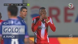 GOLO! CD Aves, A. Yamga aos 45'+1', CD Aves 1-2 Gil Vicente FC