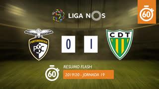 Liga NOS (19ªJ): Resumo Flash Portimonense 0-1 CD Tondela