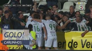 GOLO! Vitória FC, Carlinhos aos 46', Vitória FC 1-0 SL Benfica
