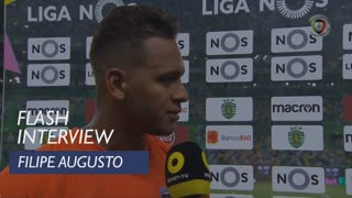 Liga (4ª): Flash Interview Filipe Augusto