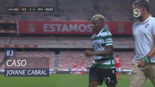 Sporting CP, Caso, Jovane Cabral aos 83'