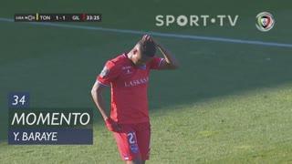 Gil Vicente FC, Jogada, Y. Baraye aos 34'