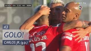 GOLO! Santa Clara, Carlos Jr. aos 43', Santa Clara 2-0 Vitória SC