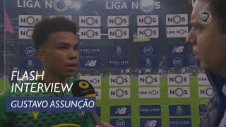 Liga (8ª): Flash Interview Gustavo Assunção