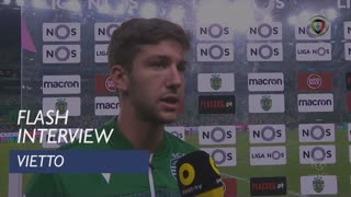 Liga (8ª): Flash Interview Vietto