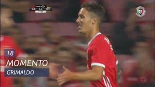 SL Benfica, Jogada, Grimaldo aos 18'