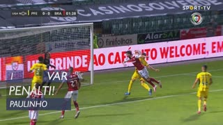 SC Braga, Penálti, Paulinho aos 1'