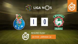 Liga NOS (26ªJ): Resumo Flash FC Porto 1-0 Marítimo M.