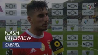 Liga (8ª): Flash Interview Gabriel
