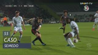 Vitória FC, Caso, Semedo aos 55'