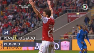 SC Braga, Jogada, Paulinho aos 54'